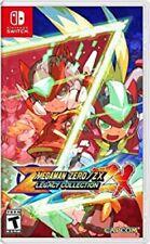 Mega Man Zero/ZX Legacy Colección Nintendo Switch Nuevo y Sellado pre-order