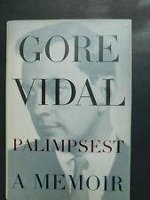 GORE VIDAL Palimpsest memoir biography 1995 1st edition unread DJ fine