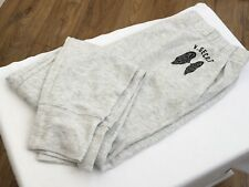VICTORIA'S SECRET VS Graphic Lounge Pants in Light Grey Size L/G BNWT