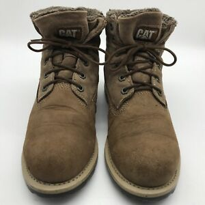 Caterpillar Unisex Suede Leather Fashion Boots Non Safety UK 7 EUR 41 QUALITY
