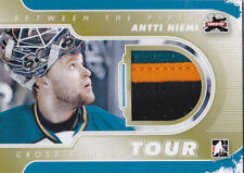 11-12 ITG Antti Niemi 1/1 Jersey Between The Pipes Cross Canada Tour 2011