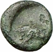 Greek City  350BC Authentic Ancient Greek Coin Bull APOLLO  i28183
