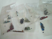 360 pc flat rhinestones,3mm,9 colors,new,AB,green,pink,blue,red,gold,purple,++