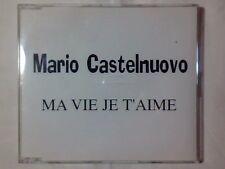 MARIO CASTELNUOVO Ma vie je t'aime cd singolo PR0M0