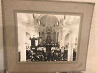 Vtg Photo Catholic Holy Mass Children First Communion Vintage 8x11 San Jose Cali