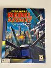 Star Wars Rebel Assault*computer Cd Rom Big Box Game*tested & Works*