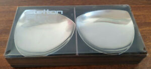 Vintage Danish Stelton Stainless Steel Dishes - tea light candle holders - boxed