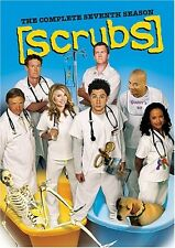 SCRUBS TV SERIES THE COMPLETE SEVENTH SEASON 7 New Sealed DVD