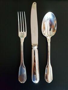 Christofle France Versailles Sterling Silber 925er, Besteck 6 Personen Neuwertig