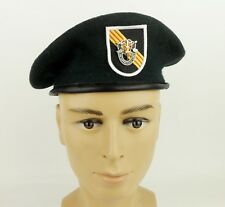 United States Army Special Forces Green Beret & Cap Badge US Military Hat SZ L
