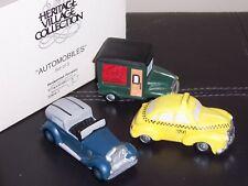 "Dept 56 ""Automobiles"" Village Accessories, Nib"