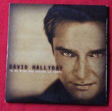 David hallyday, tu ne m'as pas laisse le temps / un petit peu de toi, CD single