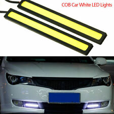 2pcs 12V LED COB Car Auto DRL Driving Daytime Running Lamp Fog Light Waterproof2