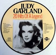 """Judy Garland - 20 Hits Of A Legend - 12"""" Picture Disc LP - Germany - 1985 - NEW"""