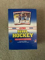 1990-91 Score Hockey Wax Box (36 Packs)