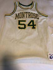Rare Montrose Christian Basketball Jersey Xl White/green