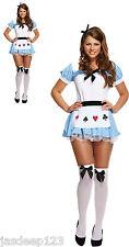 Alice nel Paese delle Meraviglie Donna Costume Travestimento Mazzo of
