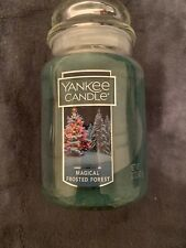 Yankee Candle Magical Frosted Forest Large Jar Candle Housewarmer 22 oz