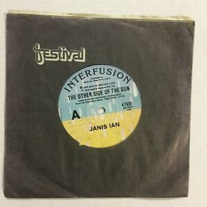 """Janis Ian The Other Side Of The Sun EXc 7"""" Record"""