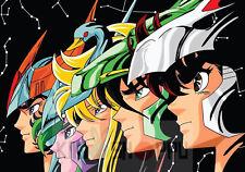 Poster A3 Saint Seiya 01