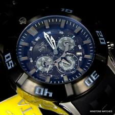 Men's Invicta Marvel Black Panther Sea Spider Sport 50mm Chronograph Watch New