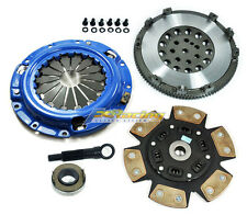 FX STAGE 3 CLUTCH KIT+ CHROMOLY FLYWHEEL 5/92-99 MITSUBISHI ECLIPSE GSX AWD 4G63