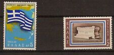 Greece Union of the Dodecanese with Greece 1948-1968 Map & Flag Greece Greek MNH