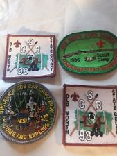 Vntg Cub Boy Scout Patch Lot 3-Cherokee Scout Reservation & Uwharrie 98-01 NEW