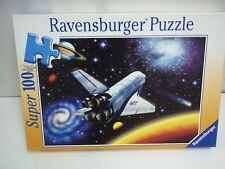 Ravensburger Outer Space Super 100 Piece Puzzle NEW USA Space Shuttle Sealed