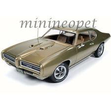 AUTOWORLD AMM1081 HEMMINGS MAGAZINE 1969 69 PONTIAC GTO 1/18 DIECAST CAR GOLD