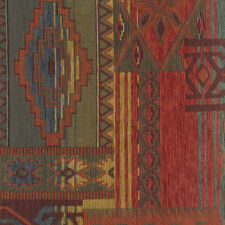 SOUTHWEST UPHOLSTERY FABRIC DESERT LODGE SEDONA SUNSET RUSTIC CHENILLE