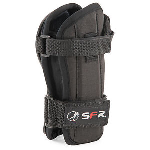 SFR Dual Splint Wrist Guards Black