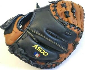 """Wilson A500 Catcher's Mitt 31.5"""" A0502 ZSCM315 Quality Leather Left Hand Throw"""