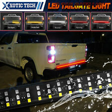 5 Funtions 60'' LED Strip Tailgate Light Bar For Chevy Silverado 1500 2500 3500