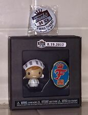 FUNKO HQ OPENING WHITE KNIGHT FREDDY FUNKO PINT SIZE HERO COMMEMORATIVE PIN SET!