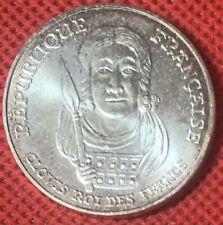100 Franc Clovis Roi Des Francs 1996 Argent