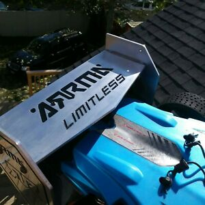 Arrma Limitless Rear Wing Aluminum, New Extremely Lightweight Made in USA