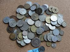 Old Coin Lot Around the world 100+ Coins Panama Vietnam France Germany S. Africa