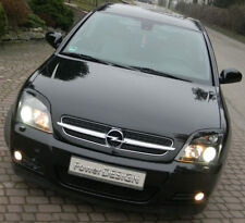 Cejas de plástico ABS para Vauxhall/Opel Vectra C Pre-Facelift 2002-2005