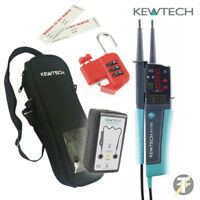 Kewtech KEWISO3 Isolation Kit with KT1790 Voltage Tester Proving Unit and more