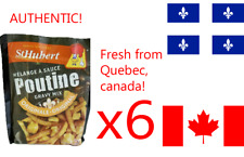 6 St-Hubert Poutine Sauce gravy mix 52g canadian product FREE SHIPPING