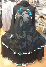 Sale!Sale! Dubai Arabic Style Nida flared/umbrella Abaya Sizes,52,54,56,58,