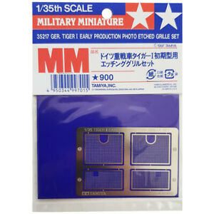Tamiya 35217 Tiger I Early Production Photo Etched Grille Model Detailing 1:35