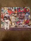 Mr Brainwash Hand Signed Lithograph Kate Moss Mickey Mouse
