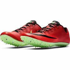 New Nike Zoom 400 Track & Field Shoes Spikes AA1205-663 Red Lime sz 12.5 US