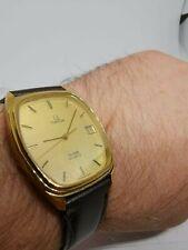 Vintage 70s Omega deville gold plated watch