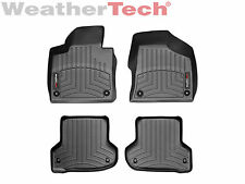 WeatherTech FloorLiner Mats- Audi A3/ S3 - 2006-2013 - 1st and 2nd Row - Black