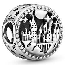 "PANDORA Harry Potter Charm 798622 C00 ""Hogwarts School of Witchcraft"" Silber"