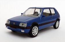 Norev 1/64 Scale Model Car 310504 - Peugeot 205 GTI - Blue