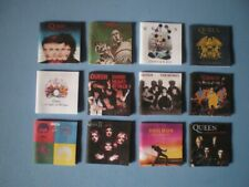 Dolls House miniatures accessories - Music albums - QUEEN x 12